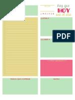 Planificador Diario 1
