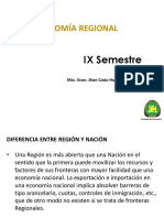 Segunda Semana -Clases Eco Regional IX.
