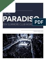 Hoe Paradiso een slimmere club wordt