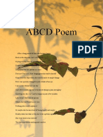 abcd poem