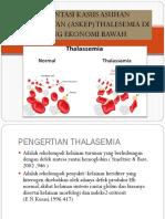 Presentasi Kasus Asuhan Keperawatan (Askep) Thalesemia