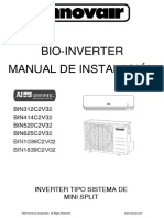 Innovair BIN Bio Inverter Installation Manual 9K 36K Spanish 1
