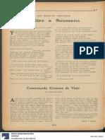 Becher, Emilio, Epitre a Soussens, En La Nota 291, 11 Marzo 1921