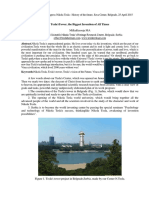 Milka Kresoja - Tesla's Tower, the Biggest Invention of All Times