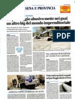 2017-12-09 Corriere Romagna - Abusi Parcheggio San Vittore