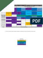 Calendario y Planeacion