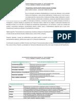 Proyecto Trnsversal en Expofilosofía Intercolegiada Filipense