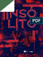 Festival Insólito 2018 - Grilla de Programación