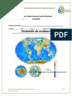 Geografia PORTAFOLIO de EVIDENCIAS Examen Extraordinario Diciembre 2017