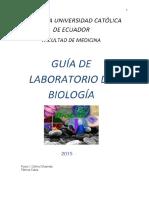 Guia Laboratorio de Biologia Octubre 2016