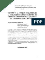 Informe Completo Comisión Evaluadora Eias Para Apn