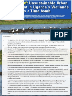 Uganda PIPA Project Wetlands Day 2018 Policy Brief (February 2018)