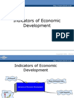 1. a Indicators of Development