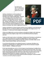 Ludwig Van Beethoven & Joseph Haydn