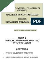Clases Tema 2 Derechotributario Fuentes.interpretac