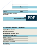 Teaching Organiser Template