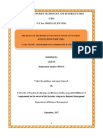 ADRIEN DISSERTATION TO THE MICROFINANCE