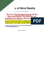 Matrixul Realitatii - Matrix of Mind Reality - PDF