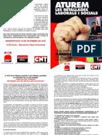 Manifiesto conjunto CGT-CNT-SO (CAT)