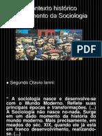 Contexto Historico Sociologia