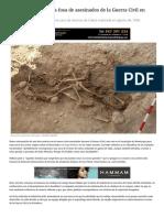 Exhumada Una Nueva Fosa de Asesinados de La Guerra Civil en Monturque _ CORDÓPOLIS, El Diario Digital de Córdoba