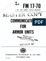 FM17-70 Communication for Armor Units 1960