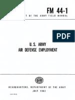 FM44-1 US Army Air Defense Employment 1962