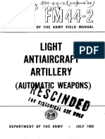 FM 44-2 Light Antiaircraft Artillery (Automatic Weapons) 1956