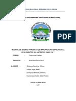 BPM PLANTA DE ALIMENTOS BALANCEADOS PARA ANIMALES UNAS..docx