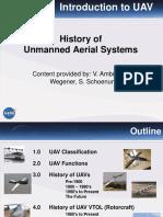 History of UAS