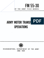 FM55-30 Army Motor Transport Operations 1969