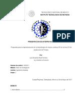 Propuesta para la implementación de la metodología de mejora continua 5S en la línea 24 de  producción de Ferrara.