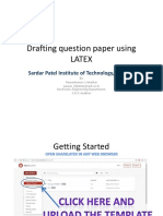 Question Paper Using LaTeX