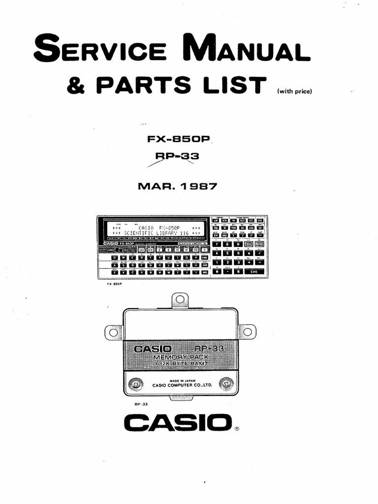 Casio FX-850P Service Manual.pdf