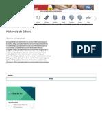 Materiais de Estudo – Projeto Medicina