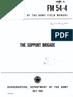 FM54-4 The Support Brigade 1965