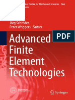 Advanced Finite Element Technologies