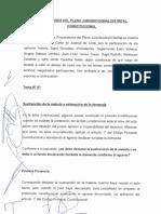 Pleno Distrital Constitucional Lima