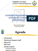 System Engineering and Automatic Control Department