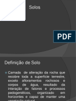 Classificação Do Solo Biotec Dos Solos 2017_1