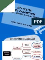 Minggu Xv-uji Non-parametrik (Chi-square & Mc Nemar)