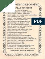 Oracao Rosacruz