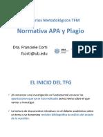 Seminario Normativa APA y Plagio