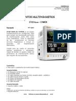 Monitor Comen - Star 8000 Monitor Multiparametros