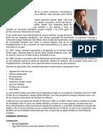 Biografias de Actores Guatemaltecos