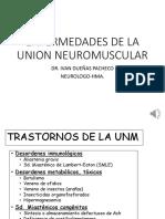 Enfermedades de La Union Neuromuscular1