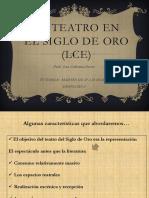 7. El Teatro en El Siglo de Oro