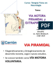 Via Motora Piramidal y Extrapiramidal PDF