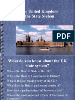 The UK State System[1]