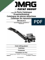 Catalogo Partes Fresadora Bomag 00800673